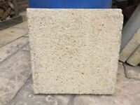 """Paving slabs 18""""x18""""x2"""" approx"""