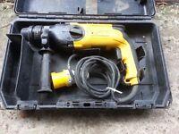 DeWalt D25104 Heavy Duty SDS+ Rotary Hammer 110