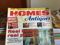 Homes & Antiques magazine collection