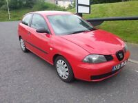 Seat Ibiza 1.4 TDI 8 Months MOT, Excellent Fuel Economy, Ideal First Car FULL SERVICE HISTORY