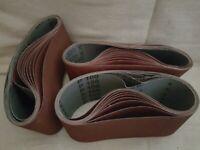 Belts HERMES for belt sander 610x100 mm 100 and 120 grit (packs of 10)