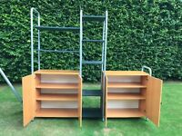 Ikea storage/shelving unit.