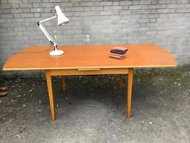 MIDCENTURY EXTENDABLE TABLE FREE Delivery RETRO VINTAGE 🇬🇧