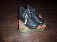 Steel Toe Cap Work Boots. Size 6