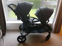 Contours options elite stroller double pram/pushchair