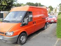 FORD TRANSIT LWB 2.4 DIESEL CLEAN FOR YEAR LONG MOT UNWANTED PART X TO CLEAR