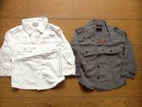 Boys 9-12 month NEXT shirts x3