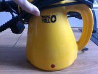 Small cleaner handheld steamer Mini Yello with original accessories