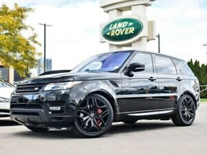 2016 Land Rover Range Rover Sport DYNAMIC STEALTH PACK 22'S