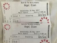 2x standing tickets Angel Olsen at the Roundhouse