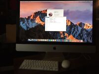 "iMac 27"" All in One 8GB RAM Latest Software MacOS Sierra 10.12 Apple Keyboard+Mouse Upgraded"