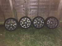 Vauxhall VXR 18inch Alloy wheels