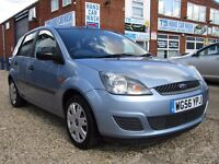 Ford Fiesta 1.4 Style 5dr 1 previous owner, fsh,long mot