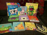 10 x books ideal for baby/toddler
