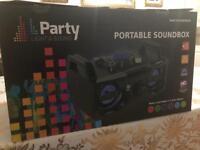 Party Portable Soundbox brand new