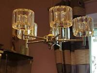 5 shade light fitting