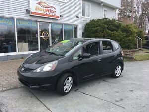 2013 Honda Fit LX Bluetooth, air-conditioning, cruise control