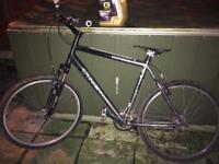 Trek 3700 mounting bike