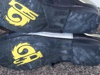 MOTORCYCLE BOOTS Sidi size 9