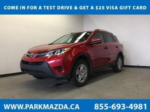 2013 Toyota RAV4 LE AWD - Bluetooth, Remote Start, Backup Cam
