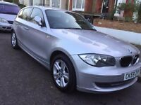 BMW 1 series 118d 5dr 2010 facelift model cheap diesel £3900 £30 tax quick sale family car 111k mile