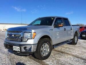 2014 Ford F-150 SuperCrew XLT 4WD 3.5L