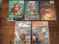 New and sealed disney dvds
