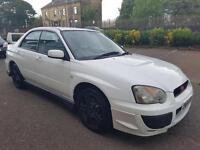 2004 SUBARU IMPREZA 2.0 AWD SPORT IN BRILLIANT WHITE LONG MOT FRONT & REAR SPOILER RARE COLOUR