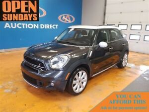 2015 MINI Cooper Countryman Cooper S HUGE SUNROOF!! AWD!