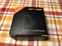 K&F Concept lens adaptor for Canon DSLR FD to EF