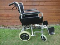 Drive Enigma lightweight attendant propelled Wheelchair 16 inch wide seat