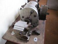 CINCINNATI 200mm Centre Height Dividing Head & Tailstock