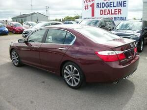 2013 Honda Accord Sport Sedan CVT/NEW 18 INCH GOODYEAR TIRES!!! Kawartha Lakes Peterborough Area image 6