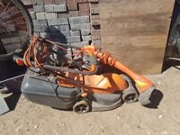 Flymo Lawnmower and strimmer.