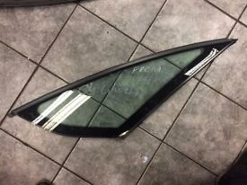 2008 CITROEN C4 GRAND PICASSO FRONT LEFT CORNER WINDOW GLASS * NO RUBBER *