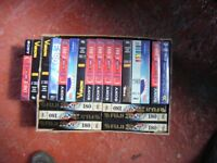 22 sealed video tapes
