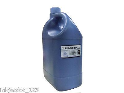 1 Gallon Pigment Black Refill Ink For Hp Canon Lexmark Br...