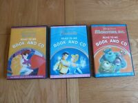 Disney Read To Me Book and CD x3