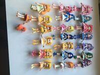 Japanese Manga dolls collection