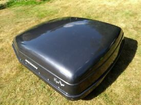 Roof Box - Large - with all fittings and key for lock - PROMISED/SOLD