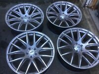 Set of 4 alloy wheels for sale 22in