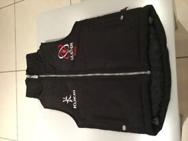 """Kids Kukri Ulster Rugby Gilet, size age5/6, 24"""" chest"""