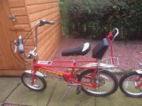 Bicycle, Raleigh chopper bike x 2. ***1sold***
