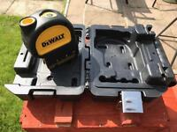 Dewalt Plumb Laser complete with Carry case (brand new)