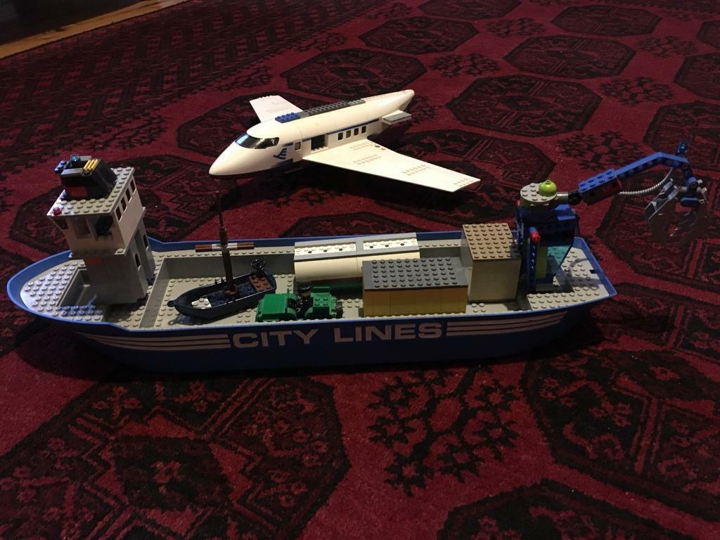 888cf754f26 Lego City Cargo Boat and Plane. New Town