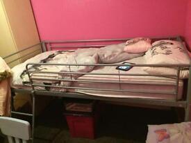 Mid sleeper and mattress