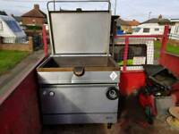 Falcon brat pan commercial catering