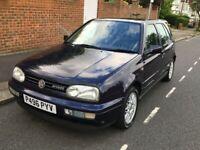 Volkswagen GOLF, VR6, 5dr Hatchback, 1996, MOT August 2021, FSH, Beautiful original condition.