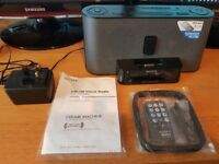 For Sale: Sony AM/FM Clock Radio and IpodDock