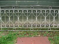 2 Decorative Wrought Iron Railings each 2500mm long x 920 mm high